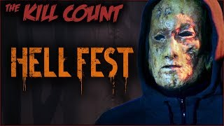Hell Fest (2018) KILL COUNT