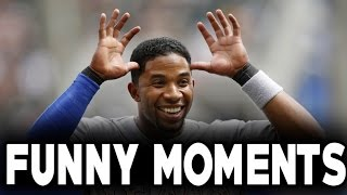 MLB: Elvis Andrus and Adrian Beltre Funny Moments (HD)