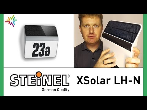 STEINEL XSolar LH-N Solar-LED-Hausnummernleuchte [watt24-Video Nr. 122]