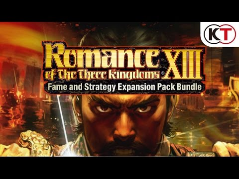 ROMANCE OF THE THREE KINGDOMS XIII - FAME & STRATEGY EXPANSION PACK - LAUNCH TRAILER! thumbnail