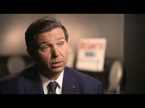 DeSantis talks about why he thinks Trump is a role model for children