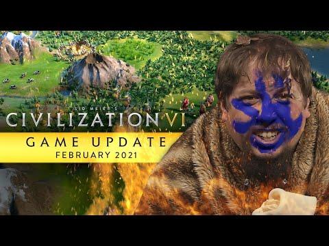 Civilization VI February 2021 free update dev trailer