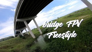 Bridge FPV Freestyle #FPV Freestyle#4k #ARMATTAN #BADGER #Gopro HERO7 black#