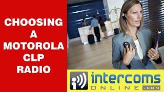 Motorola CLP1010 Summary