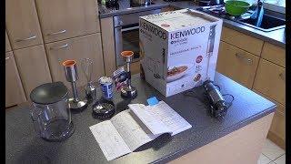 Kenwood HDM802SI Stabmixer mit Kartoffelstampfer - Test