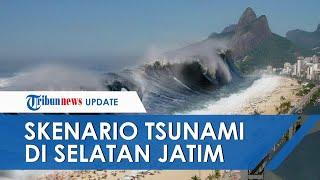 Skenario Terburuk Gempa dan Tsunami Besar di Selatan Jatim, Waktu Penyelamatan Hanya 16 Menit