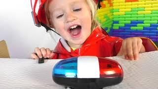 Firefighters Song на русском | Детская песня про пожарного | Песни для детей от Кати и Димы