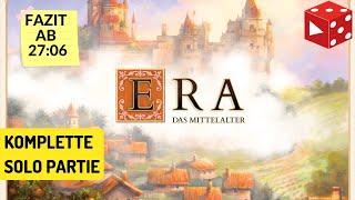 ERA Das Mittelalter (Matt Leacock, eggertspiele 2019) - komplette Solopartie inkl. Fazit deutsch