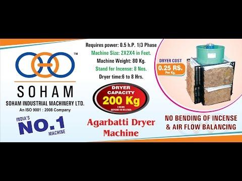 Incense Dryer Machine