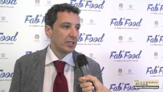 Intervista a Massimo Rossini in visita a Fab Food – Expo 2015