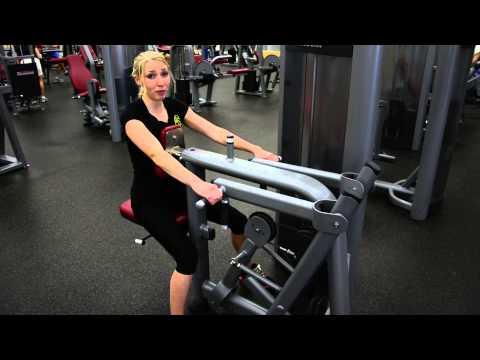 Beginner Strength Training Workout on Machines
