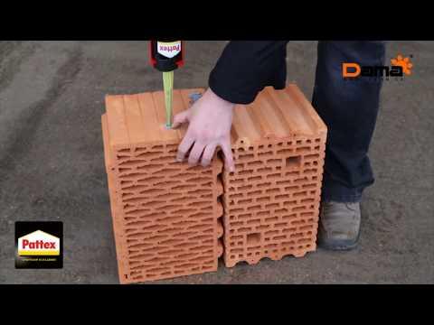 Použití chemické malty Pattex