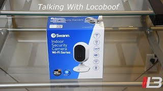 Swann Indoor Security Camera System unboxing, review, demo: 1080p full HD, 2-way audio, cloud #swann