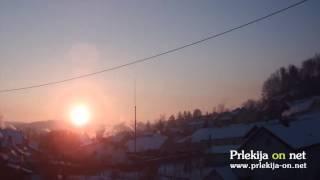 Zadnji sončni vzhod v letu 2014