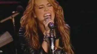 Miley Cyrus-These four walls-live-Rock in Rio Lisbon 2010