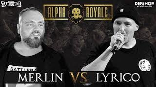 Alpha Royale x TopTier Takeover Battle #1 Lyrico vs Merlin