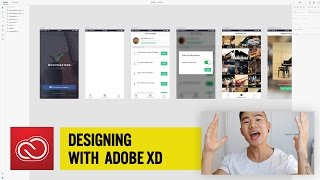 Michael Wong Designing with Adobe XD: Create A Menu Bar | Adobe Creative Cloud