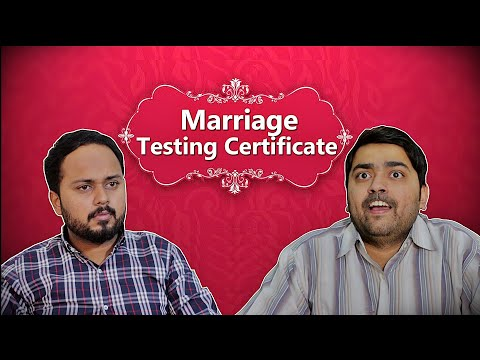 Marriage Testing Certificate | Comedy Sketch | THE IDIOTZ