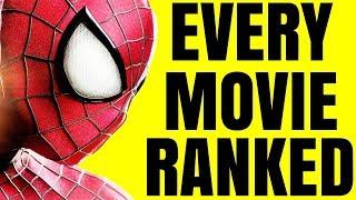 Worst to Best - Spider-Man Movies Ranked