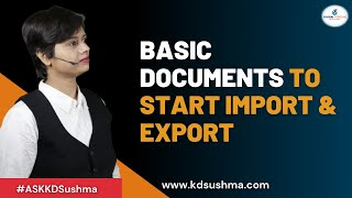 Starting of Export Business ( Must Watch)