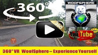 360 Videos | RuFFBoarding The Neighborhood  | VR | Virtual Reality | WooFSphere