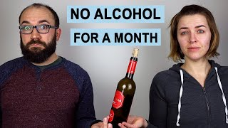 We Quit Alcohol for a Month, Here's What Happened