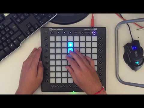 Launchpad pro: Marshmello-Alone (by Yhugo Slave) (видео)