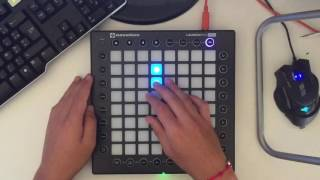 Gambar cover Launchpad pro: Marshmello-Alone (by Yhugo Slave)