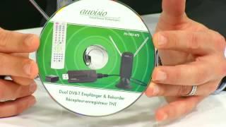 auvisio DVB-T Dual USB-Stick TV-Empfänger & Recorder