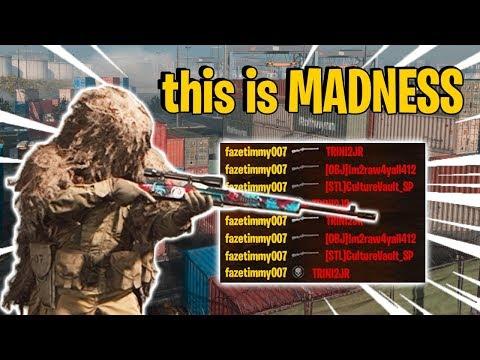 Sniping Shipment 24/7 on Modern Warfare