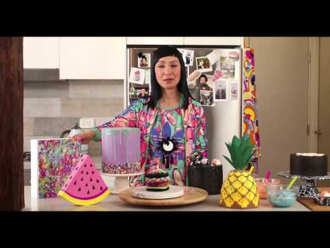 Video Katherine Sabbath - Greatest Hits: A Pop-Up Cake Cookbook on Kickstarter.