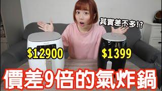 【Kiki】價差9倍的氣炸鍋有差嗎?怒砸萬元買來實測「結果超驚人!」