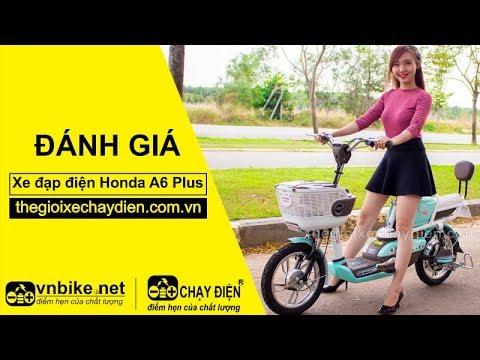 Đánh giá xe đạp điện Honda A6 Plus
