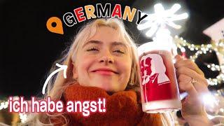 AMERICAN Tries To Speak GERMAN At A Christmas Market!! 🎄