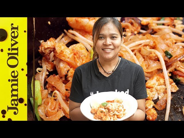 How To Make Classic Pad Thai Cooking With Poo Jamie Oliver