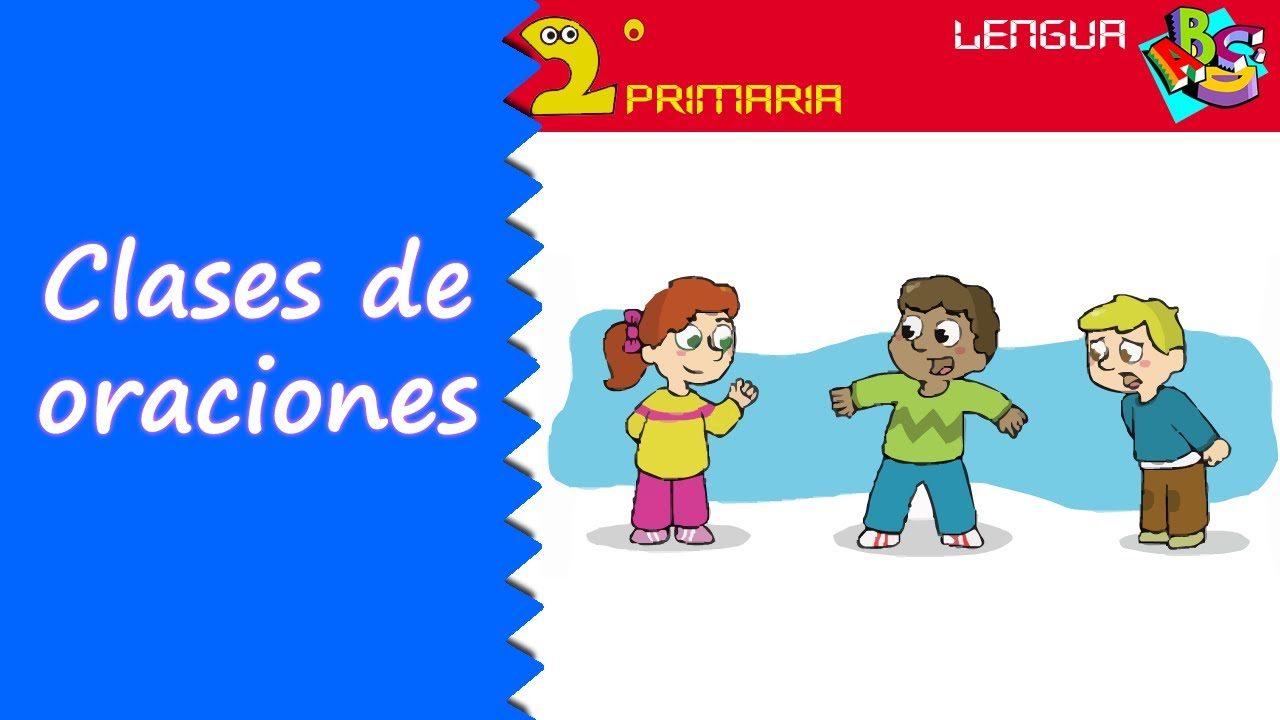 Lengua Castellana. 2º Primaria. Tema 12. Clases de oraciones