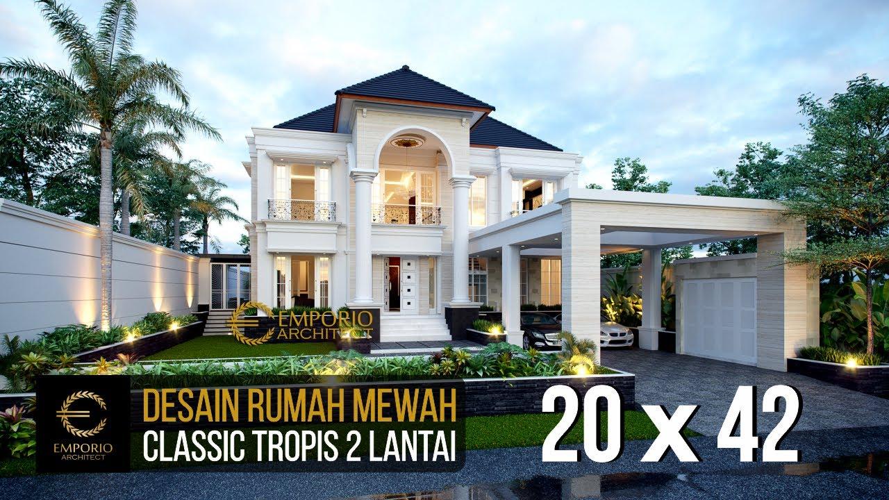 Video 3D Mr. Hartono Classic House 2 Floors Design - Kalimantan Utara