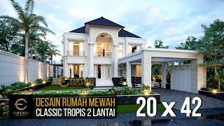Video Desain Rumah Classic 2 Lantai Bapak Hartono di  Kalimantan Utara
