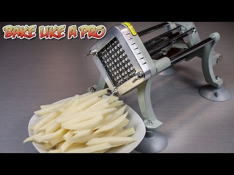 Professional Weston French Fry Cutter Unboxing And Review