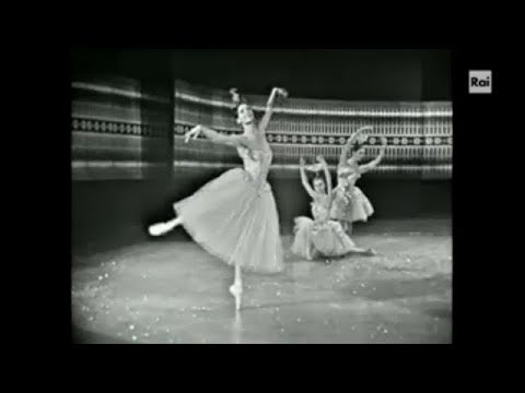 Once upon a time there was... a Nutcracker - Carla Fracci, Waltz of the Flowers 1967