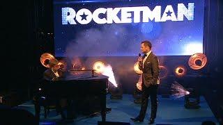 Elton John & Taron Egerton Surprise Performance   Rocketman Cannes Gala Party