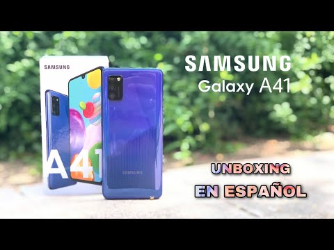 Samsung Galaxy A41 ¡El Samsung MÁS PEQUEÑO pero MATÓN! Unboxing en español
