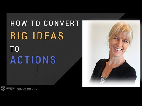 Gaia Grant: How To Convert Big Ideas Into Action (+endorsement)