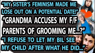 Feminism Ruined My Date! Nan's Outlandish Accusation, BIL Banned From Meeting My Child #Reddit #AITA