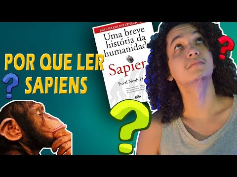 Sapiens: Uma Breve História da Humanidade, de Yuval Noah Harari  #indicação de livros