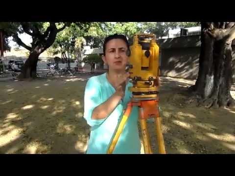 Tutorial Teodolito mecánico TOPCON TL6   Nancy Manrique