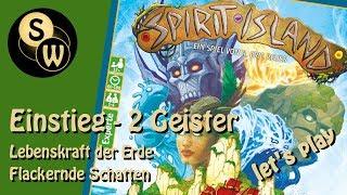 Spirit Island    2 Geister Einstiegsmodus (let's Play)