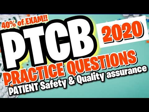 UPDATED PTCB 2020-2021 PRACTICE QUESTIONS - YouTube