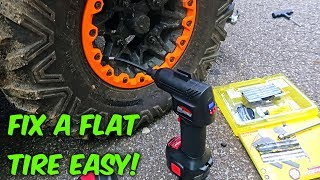 How to Fix a Flat Tire? EASY!