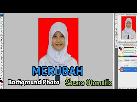 Video Cara Cepat Ganti Background Photo Dengan Photoshop Cs3
